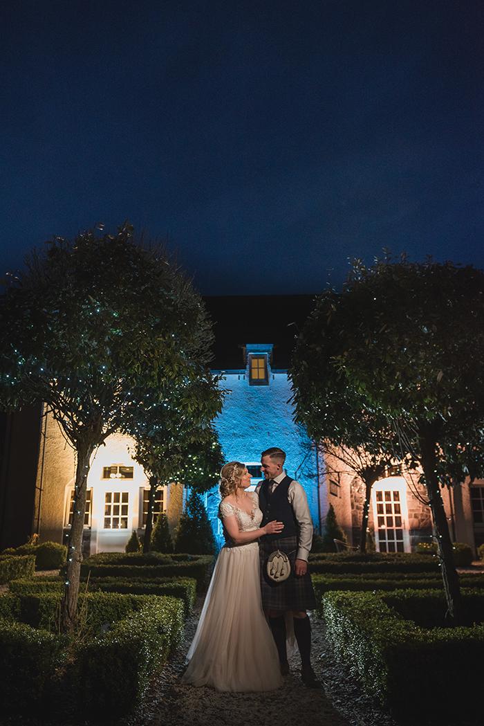 Glenskirlie House Wedding image
